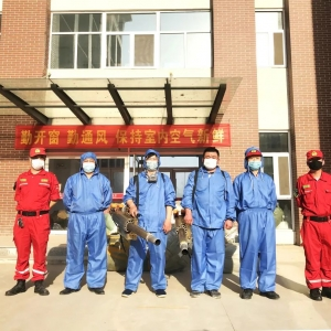 桃城中學 || 殺毒消毒,全面支持復課