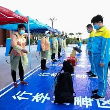 滨湖志臻风雨中的复学进行曲